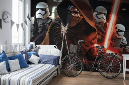 Star Wars wall mural wallpaper